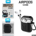 NEWTOP GD02 CUSTODIA AIRPODS NERO