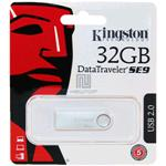 USB FLASH KINGSTON DTSE9H SILVER 32GB