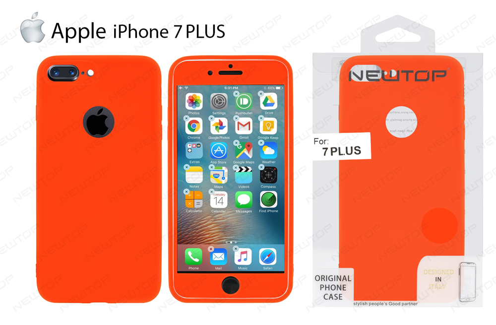 Prodotto: 20742 - 360 2 IN 1 TPU SOFT COVER IPHONE 7 PLUS (APPLE ...